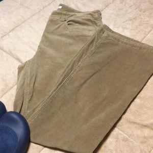 Jones of New York Tan BootCut Corduroy Pants